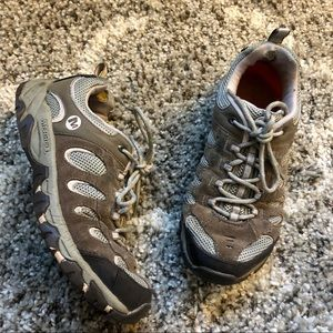 Merrell Ridgepass Trail Brindle/Lilac Hiking Shoes